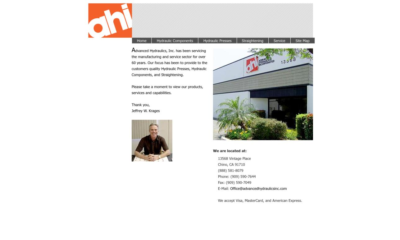 Advanced Hydraulics, Inc.