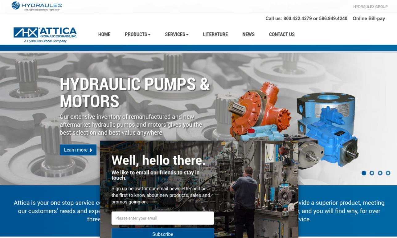 Attica Hydraulic Exchange Corporation
