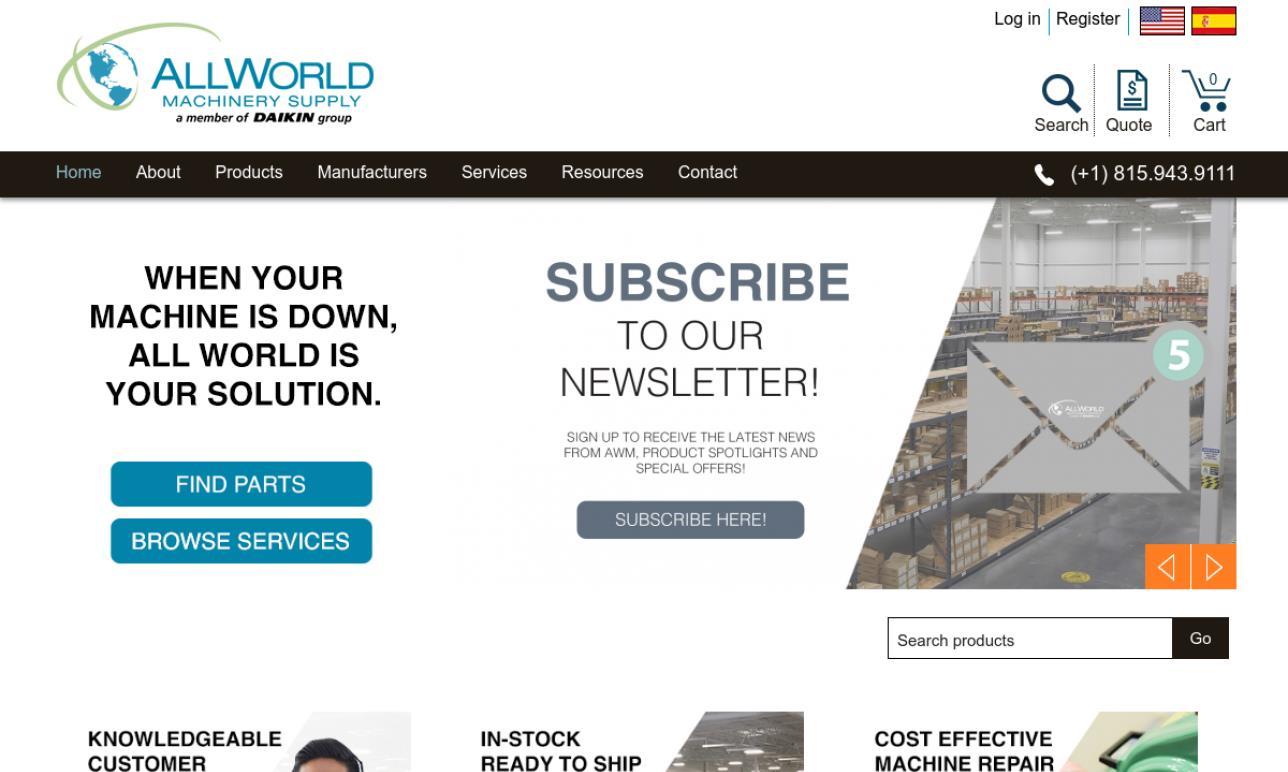 All World Machinery Supply Inc.