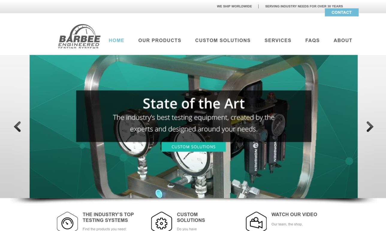 Barbee Engineered Testing Systems