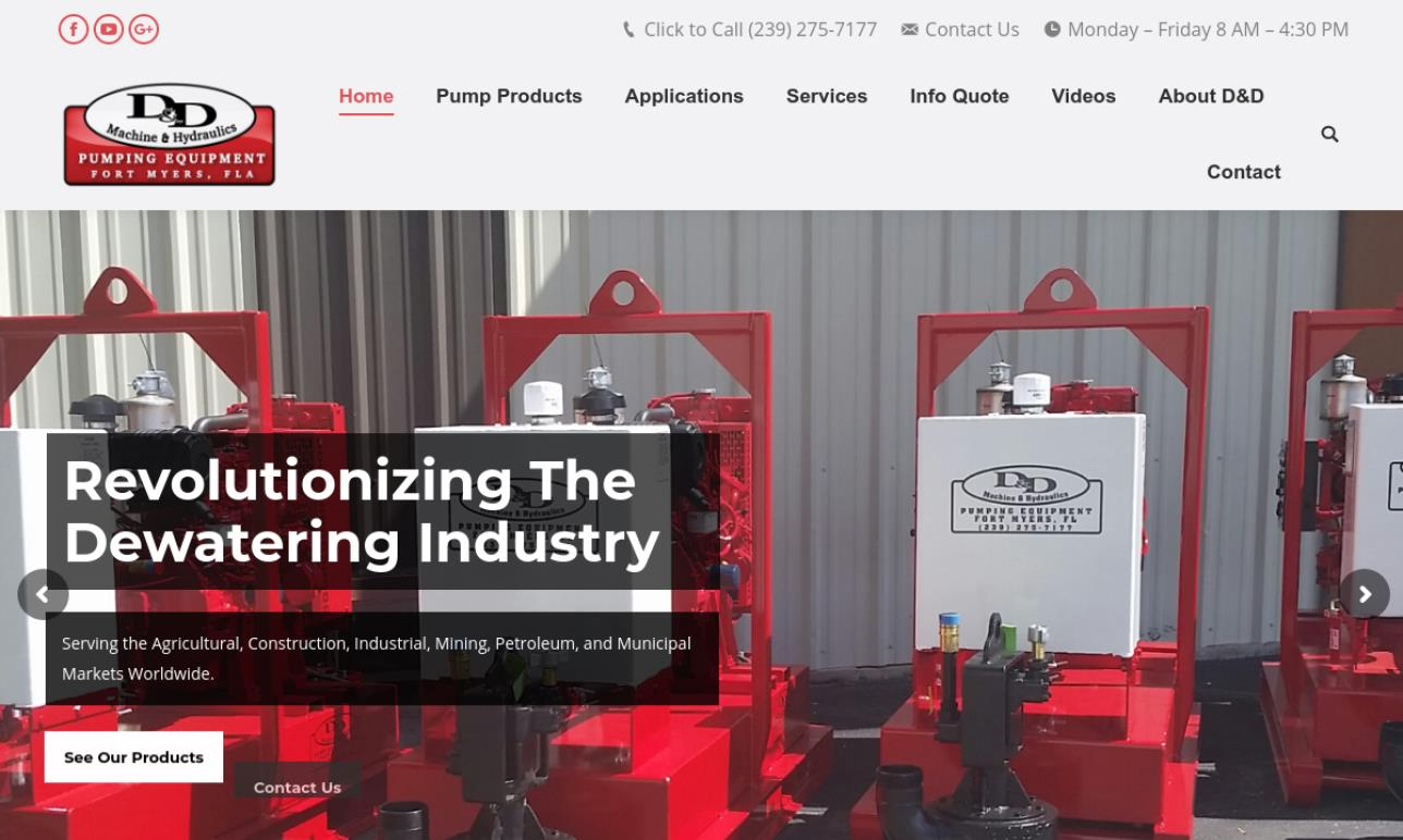 D & D Machine & Hydraulics, Inc.