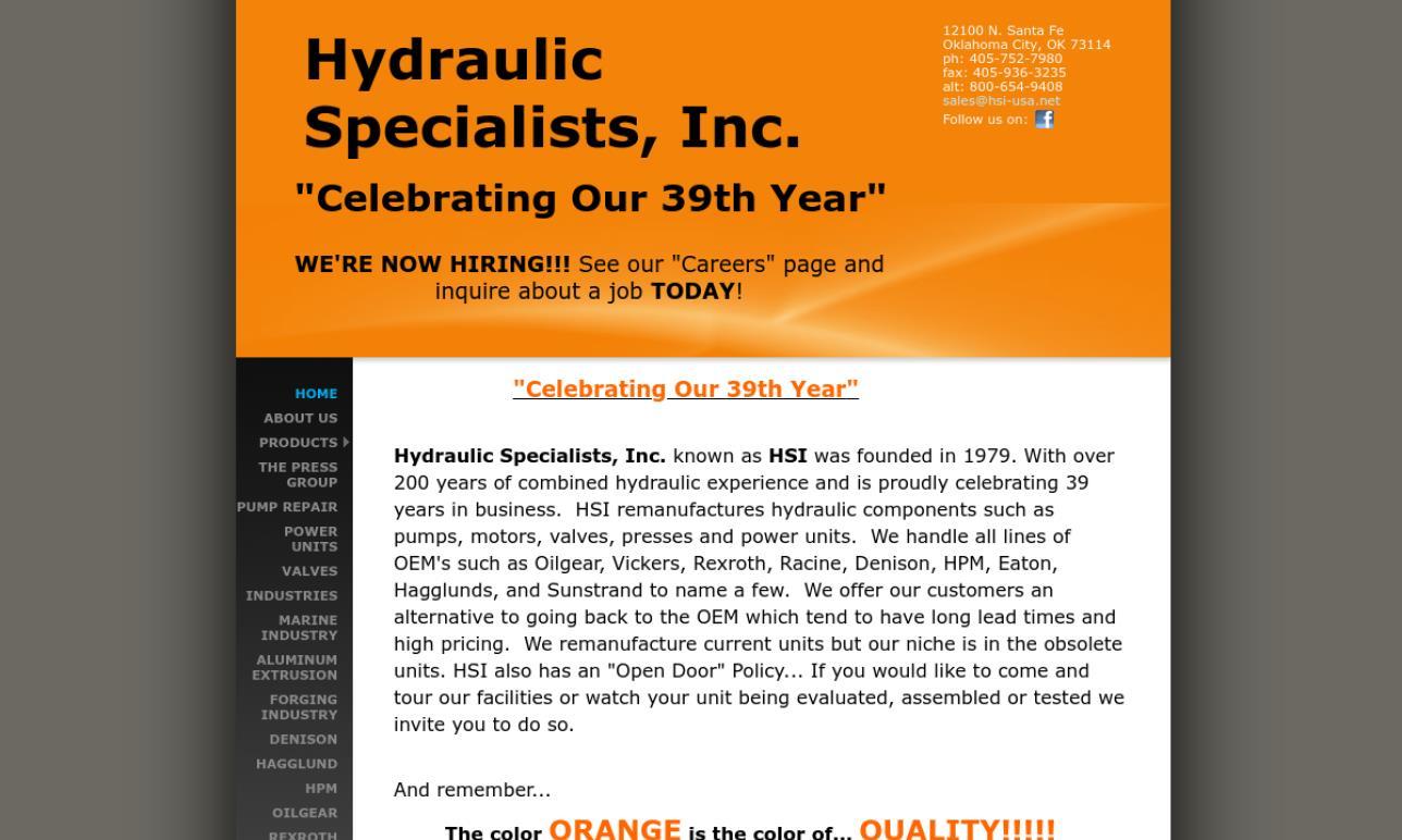Hydraulic Specialists, Inc.