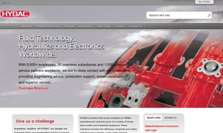 HYDAC Technology Corp., Hydraulic Div.