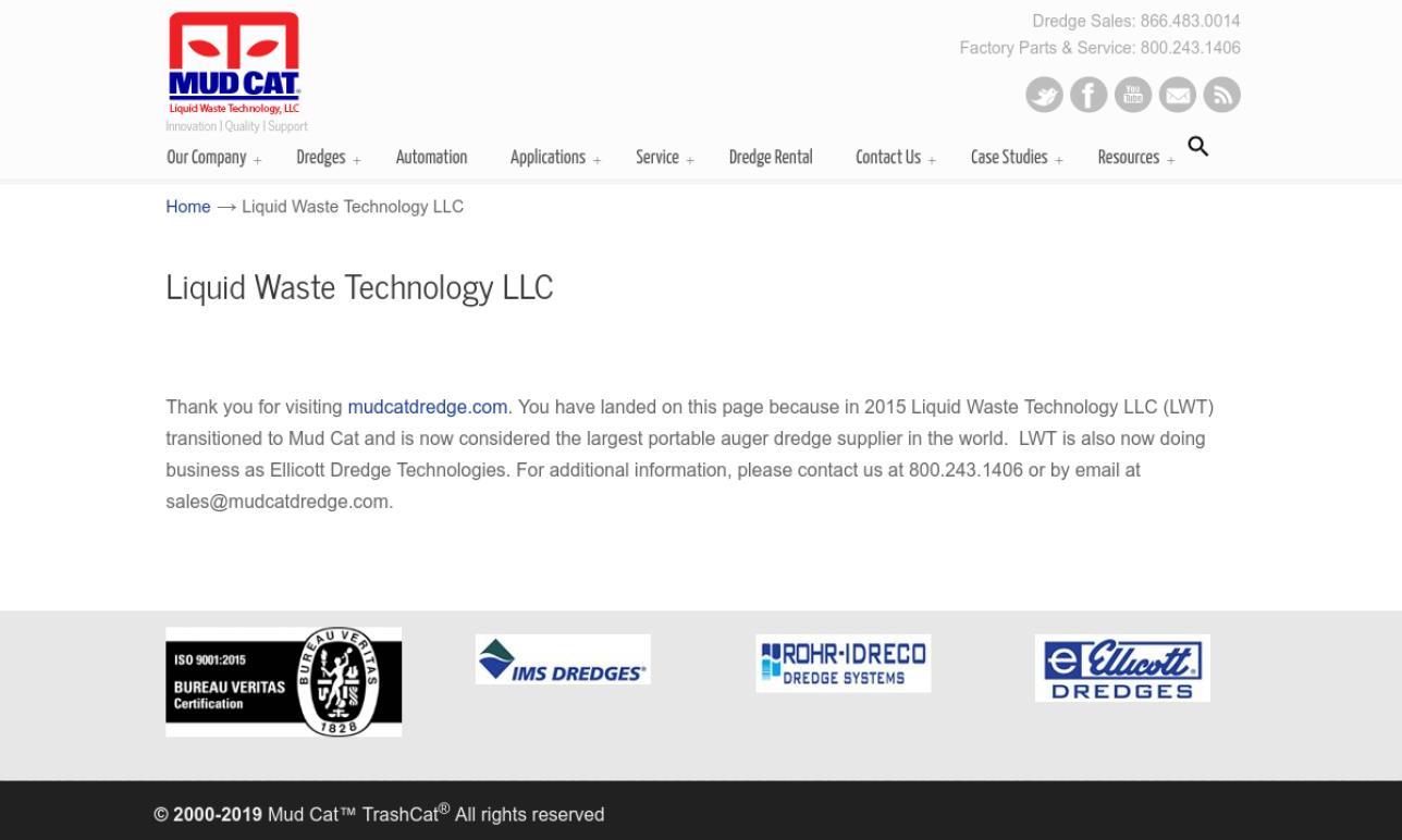 Liquid Waste Technology LLC | Hydraulic Pumps
