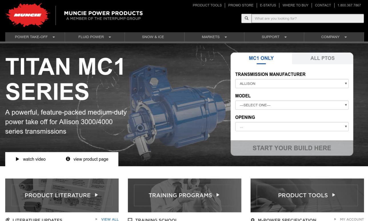 Muncie Power Products, Inc.
