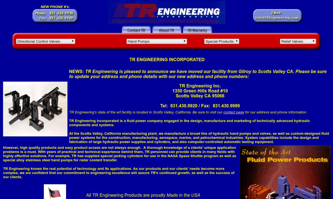 TR Engineering Incorporated